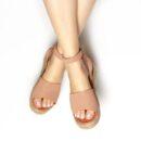 Sandalias azul moda
